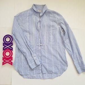 J CREW long sleeve shirt with tux design (6)